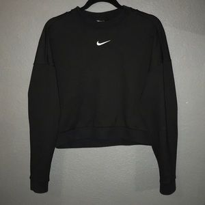 Nike cut out back crewneck
